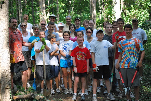 Cross Country Team Building/Trail Clearing | by Kentucky Country Day