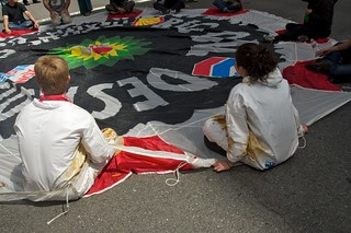 Make Big Oil Pay march to Chevron, EPA & BP 399
