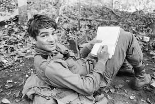Gunner Ernie Widders writes a letter from Vietnam