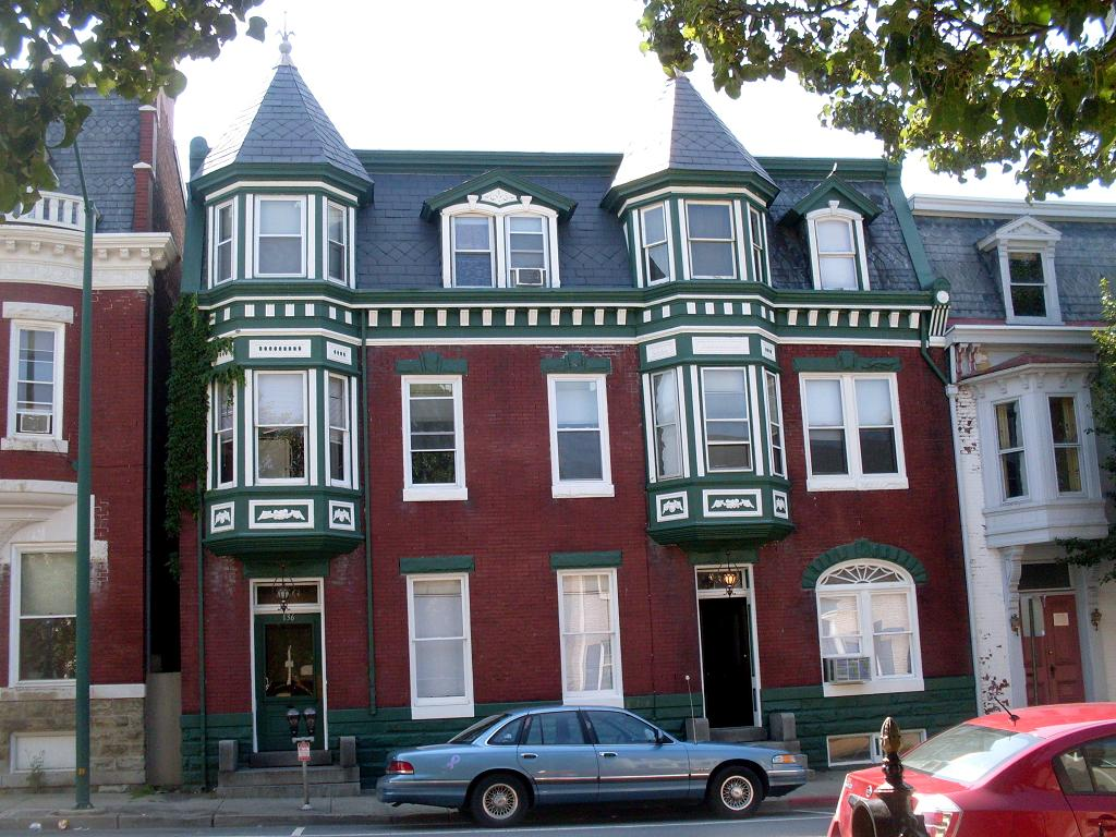 House with green trim in hagerstown 1 this set has 6 phot flickr - White house green trim ...