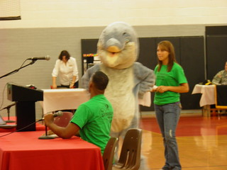 Dolphin at New Student Orientation