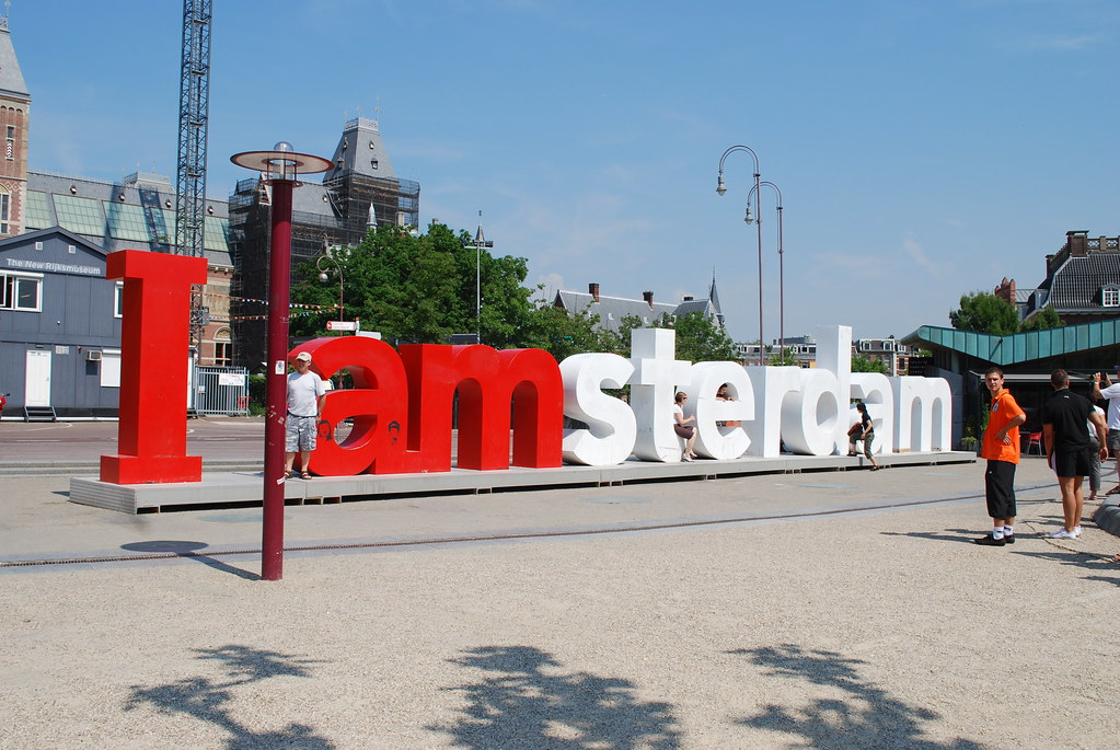 amsterdam - i am amsterdam sign museumplein | le monde1 | flickr