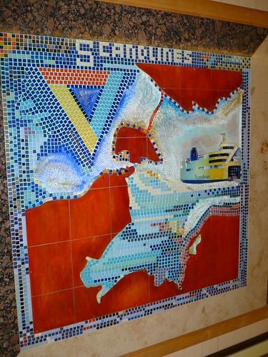 Scandlines mosaic   by c_nilsen