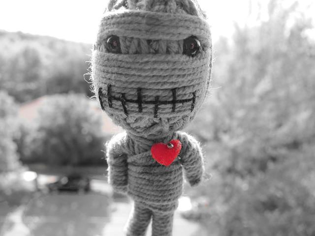 un muñeco..
