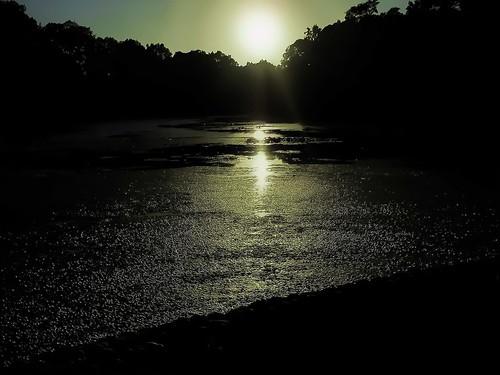 sunset lake water newjersey rahway miltonlake