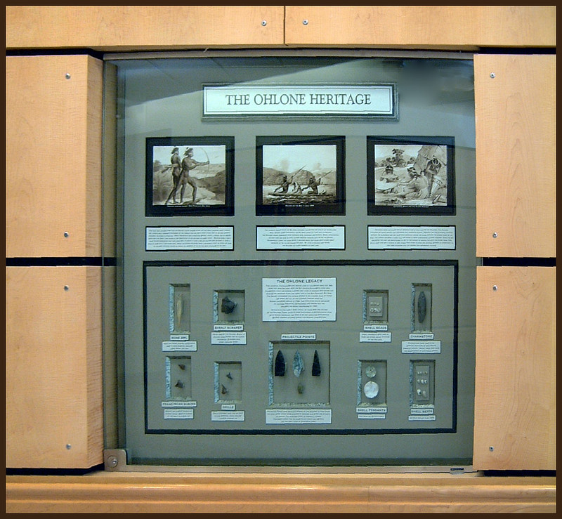 Ohlone heritage Exhibit and Artifacts