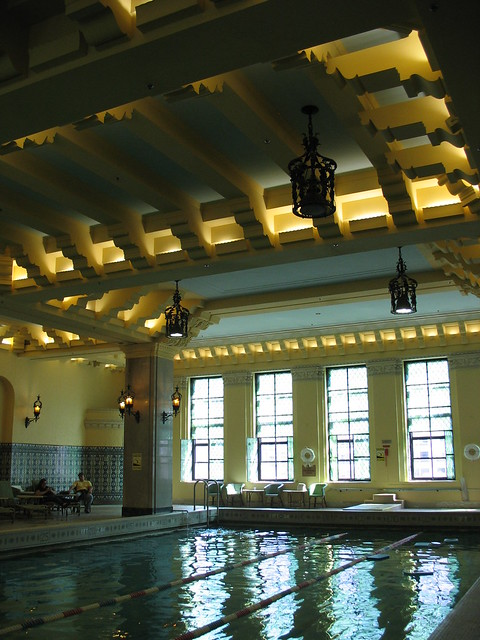 Pool at the Intercontinental Hotel