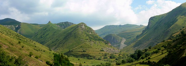 Panorama view of Šar mountains landscape (Шар-планина, Malet e Sharrit)
