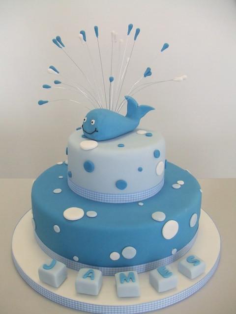 CAKE - Blue whale