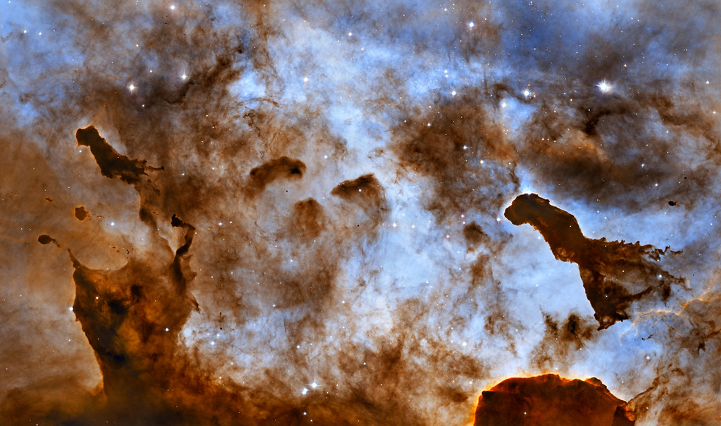 Carina Nebula Pillars