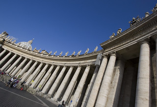 Bernini's Colonnade   by Lawrence OP