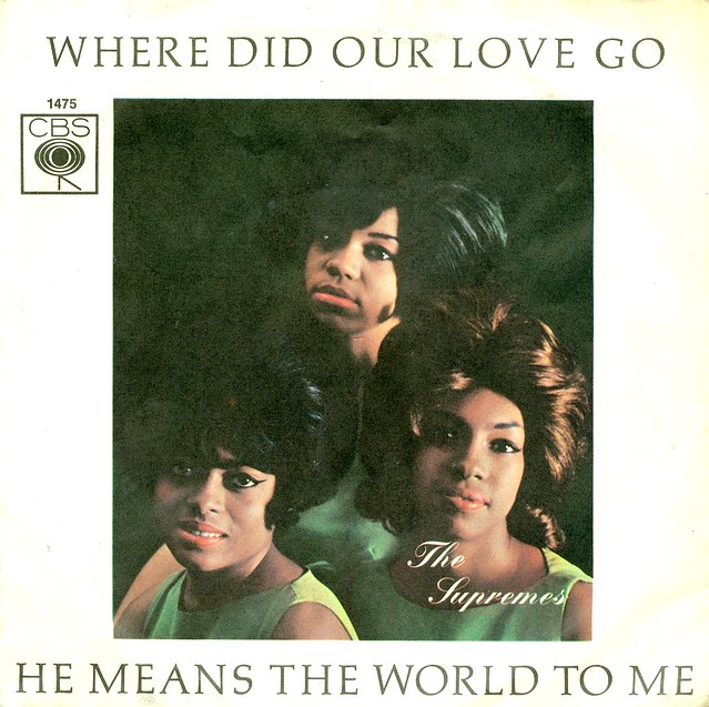 Supremes, The - 1 - Where Did Our Love Go - D - 1964
