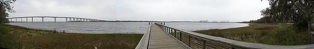 Wando River Bridge Area