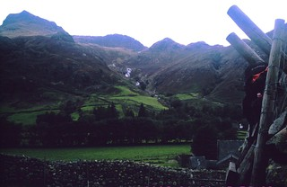 Harrison Stickle and Pavey Ark from Langdale SEPT 2010