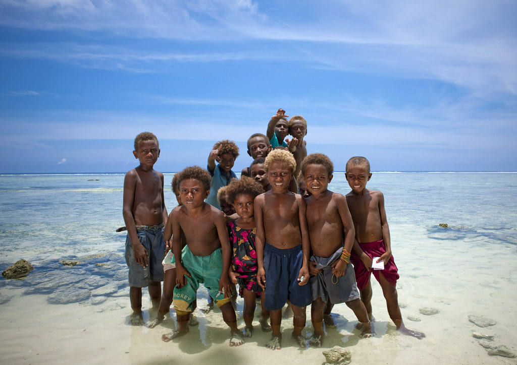 New ireland island kids - Papua New Guinea | When you ask th