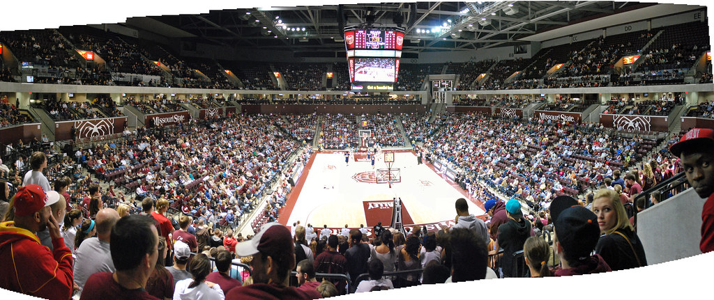 Jqh Arena Missouri State University Basketball Game Pano Flickr