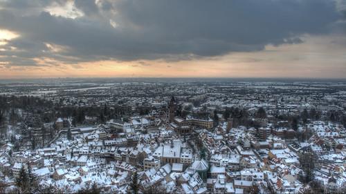 Weinheim im Winter