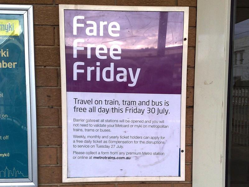 Fare Free Friday