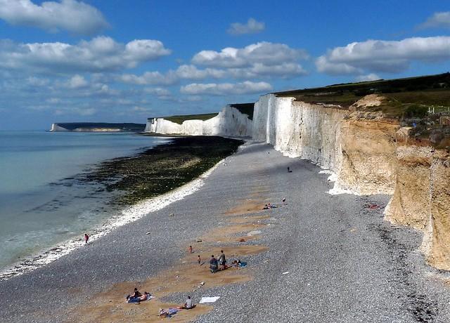 Cliffs at Birling gap (Sussex)