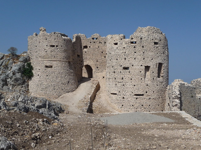Castello normanno di Stilo (agosto 2010)