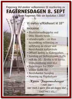 Vedsalg Fagernes