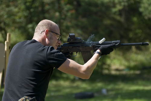 Saiga 12 in action!