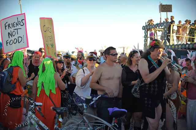 Billion Bunny March • Burning Man 2010