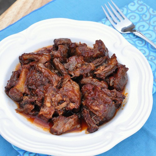 Braised Oxtail   by Food Lovers Odyssey