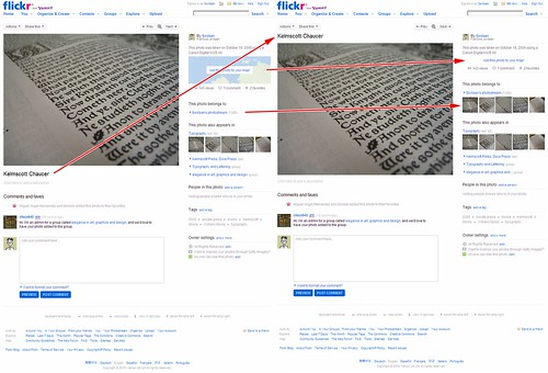 Title above photo, and other tweaks to Flickr's new photo pages