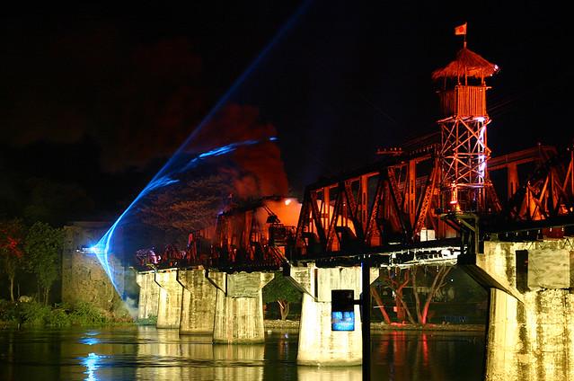 Bridge Festival   The Bridge on the River Kwai   Kanchanaburi   Thailand