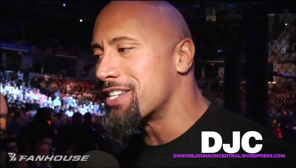 Dwayne Johnson Mma Ufc 119 Interview 9 Lisa Marie Flickr