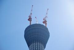 Top of Tokyo Sky Tree in 2010 July