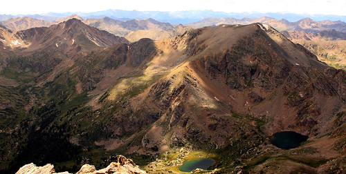 sky mountain mountains nature landscape outdoors high colorado view wind hiking top tall elevation distance range height element elemental