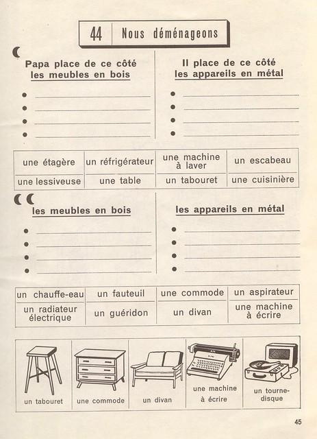 exercices p45