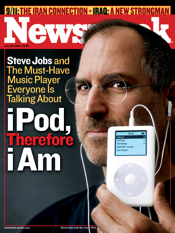 Newsweek Cover: Steve Jobs, iPod, iTunes