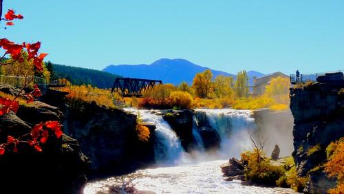 Lumbreck Falls, Alberta   by FancyLady