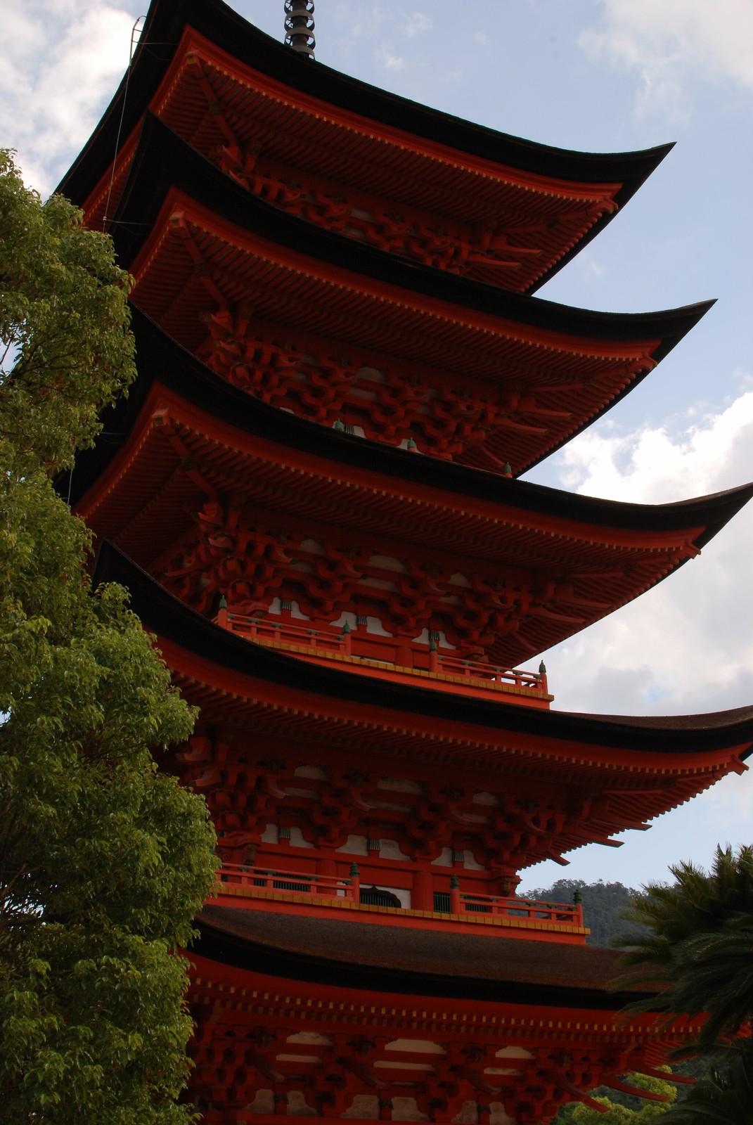 Pagoda en Mijayima