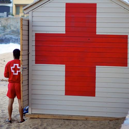 red cross | by gematrium