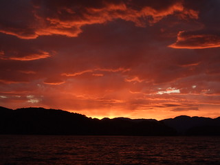 Stunning sunrise at Loch Morar, photo: markus stitz