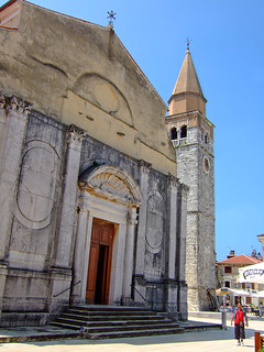 Parish church of the Assumption of the Virgin Mary and St. Peregrine in Umag | by oksidor