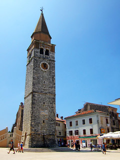 15th century bell tower in Umag | by oksidor