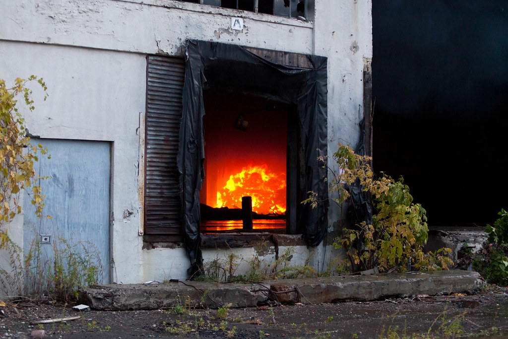 Fire at the Central Warehouse - Albany, NY - 10, Oct - 03.jpg by sebastien.barre