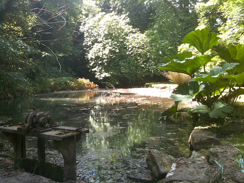 The millpond at Bibury Mill | by Tip Tours