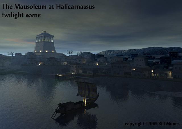 -0353 Mausoleo de Halicarnaso(94co)