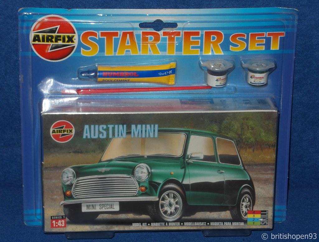 Mini Kit Collection Airfix Austin Mini Starter Kit 143 Flickr