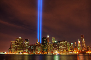 WTC Tribute in Light | by dennoit