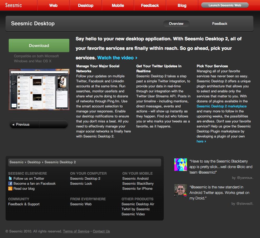 Seesmic Desktop 2 - Seesmic | seesmic com/seesmic_desktop/sd… | Flickr