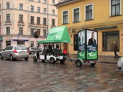 Zaļā reklāma Rīgas ielās 2