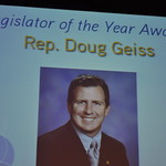 Michigan Rep. Doug Geiss Wins 2010 MML Legislator of the Year Award