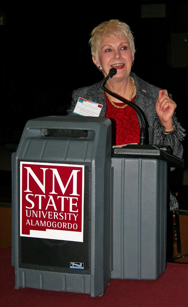Keynote Speaker, NMSU President Barbara Couture